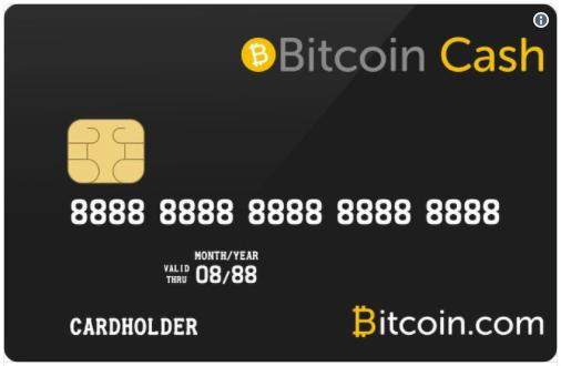 ビットコインキャッシュ デビットカード